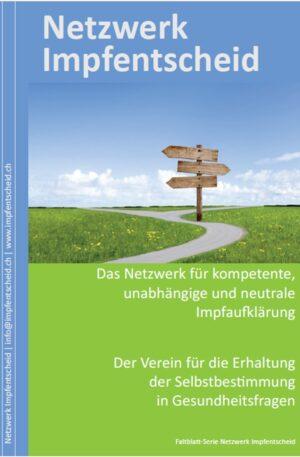 Faltblatt Netzwerk Impfentscheid allg.