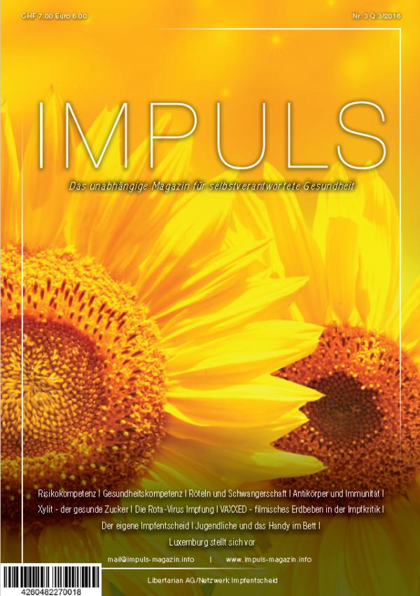 IMPULS Magazin Nr. 3 Q3/2016