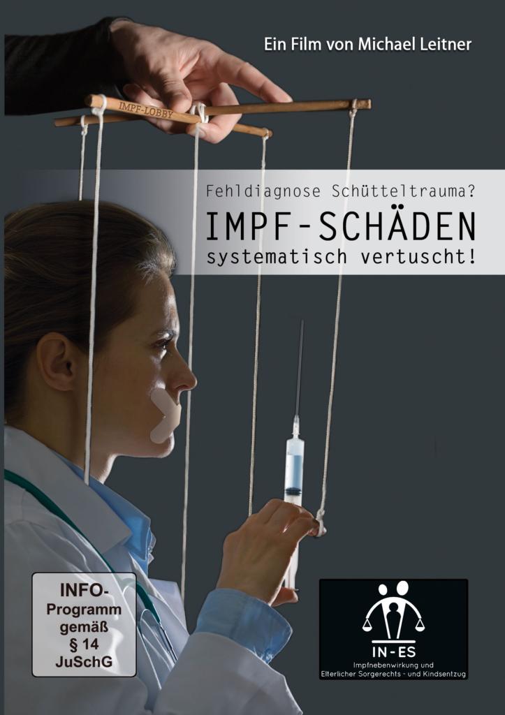 DVD – Fehldiagnose Schütteltrauma? IMPFSCHÄDEN SYSTEMATISCH VERTUSCHT! Slim-Box + 1 Kartontasche