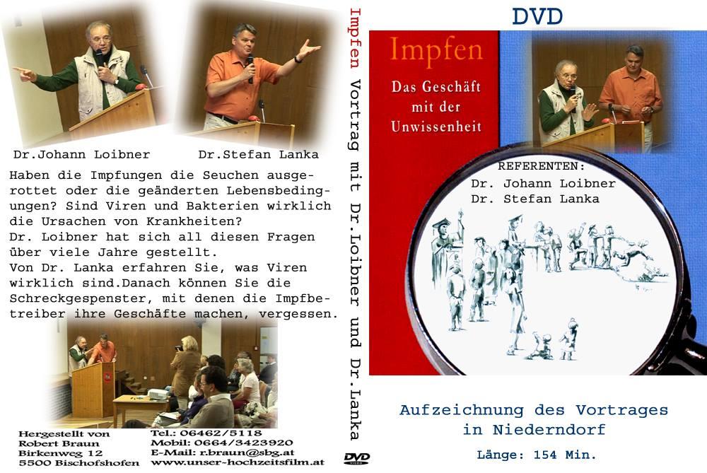 Impfen – Das Geschäft mit der Unwissenheit – Vortrag Niederndorf – DVD (2015)