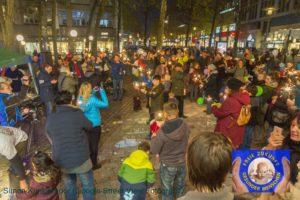 Lichterumzug für Freie Impfentscheidung vom 4.11.2017 in Hamburg