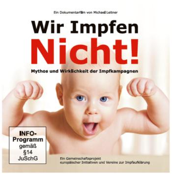 """DVD """"Wir Impfen Nicht"""" in Kartonhülle (3er Set)"""