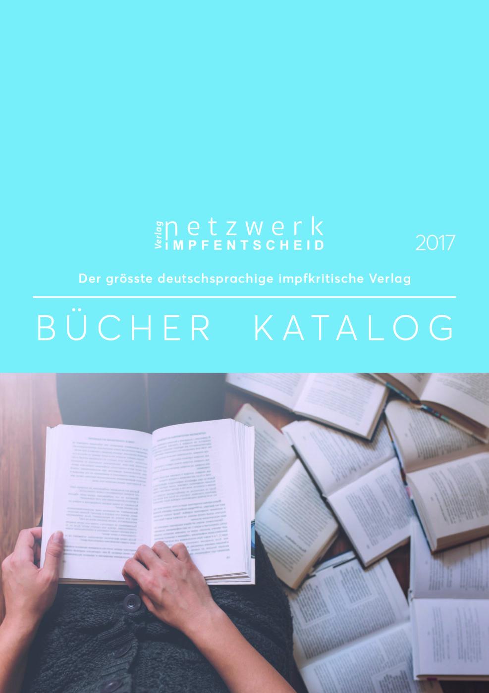 Buchkatalog Verlag Netzwerk Impfentscheid